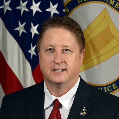 William F. Moore, SES, Assistant Deputy Chief of Staff at G4, Headquarters, U.S. Army