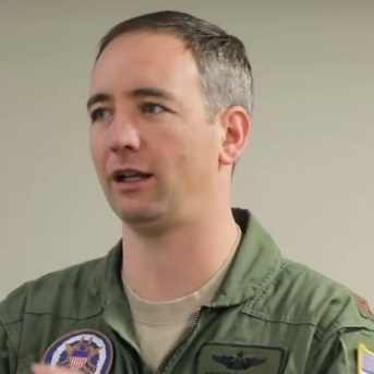 Major Travis Sheets (U.S. Air Force)