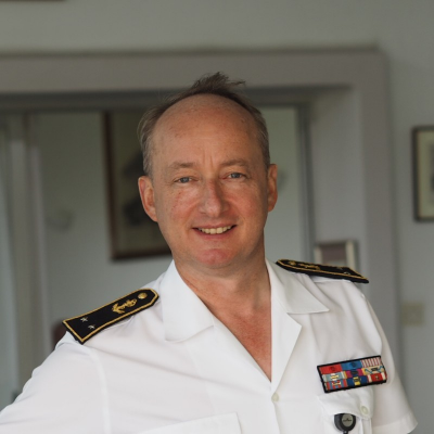 Vice Admiral Jean Hausermann