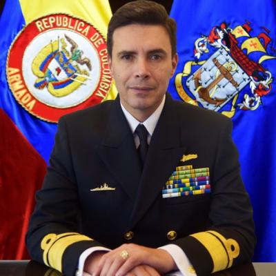Rear Admiral Oscar Darío Tascón Muñoz