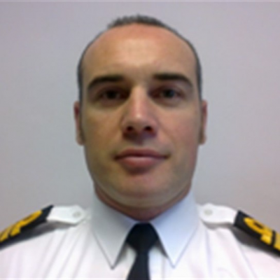 Captain Christopher Ling RN