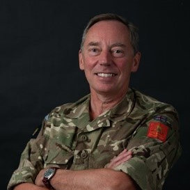 Lieutenant General Chris L Tickell CBE