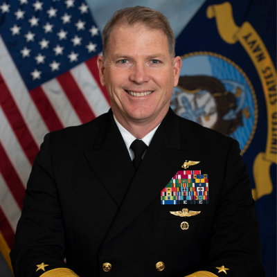 "Rear Admiral Rich ""Snap"" Brophy"