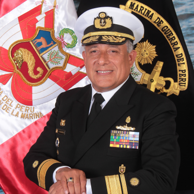 Rear Admiral Augusto Bohorquez Villalta, Surface Warfare Commander at Peruvian Navy