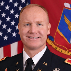 Colonel Brian Gibson, Commandant at U.S. Army Air Defense Artillery School