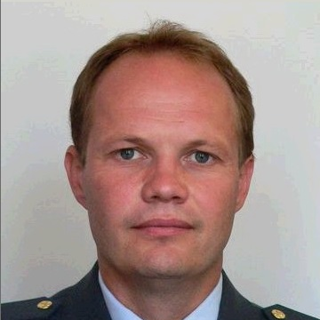 Lieutenant Colonel Tomaňa, Chief of Tactical Air Force Combat Training Branch at Czech Air Force