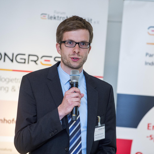 "Dr. Maximilian Hofmann, Group Manager Drive Inverters and Mechatronics - Deputy Head of the department ""Vehicle Power Electronics"" at Fraunhofer IISB"