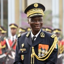 Major General Sekou Touré, Chief of Defence Staff at Ivory Coast Armed Forces