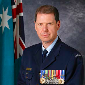 Group Captain Richard Trotman-Dickenson, Director Development, Air Warfare Centre at Royal Australian Air Force