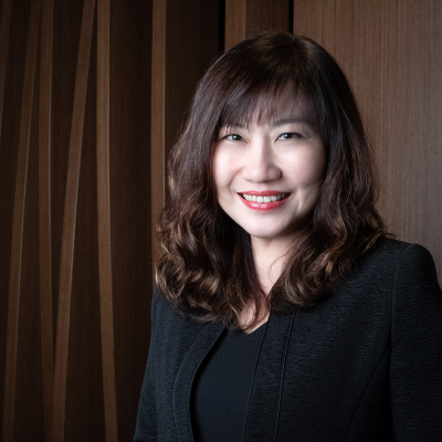 Ms Cinn Tan, Chief Sales & Marketing Officer at Pan Pacific Hotels Group