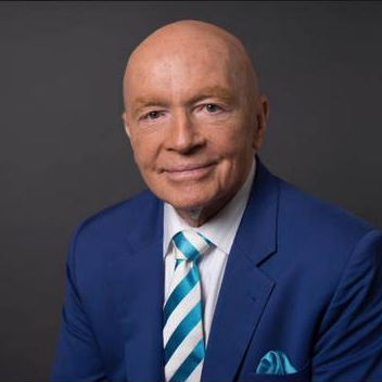 Mark Mobius, former Executive Chairman, Emerging Markets Group, Franklin Templeton at and Founder, Mobius Capital Partners