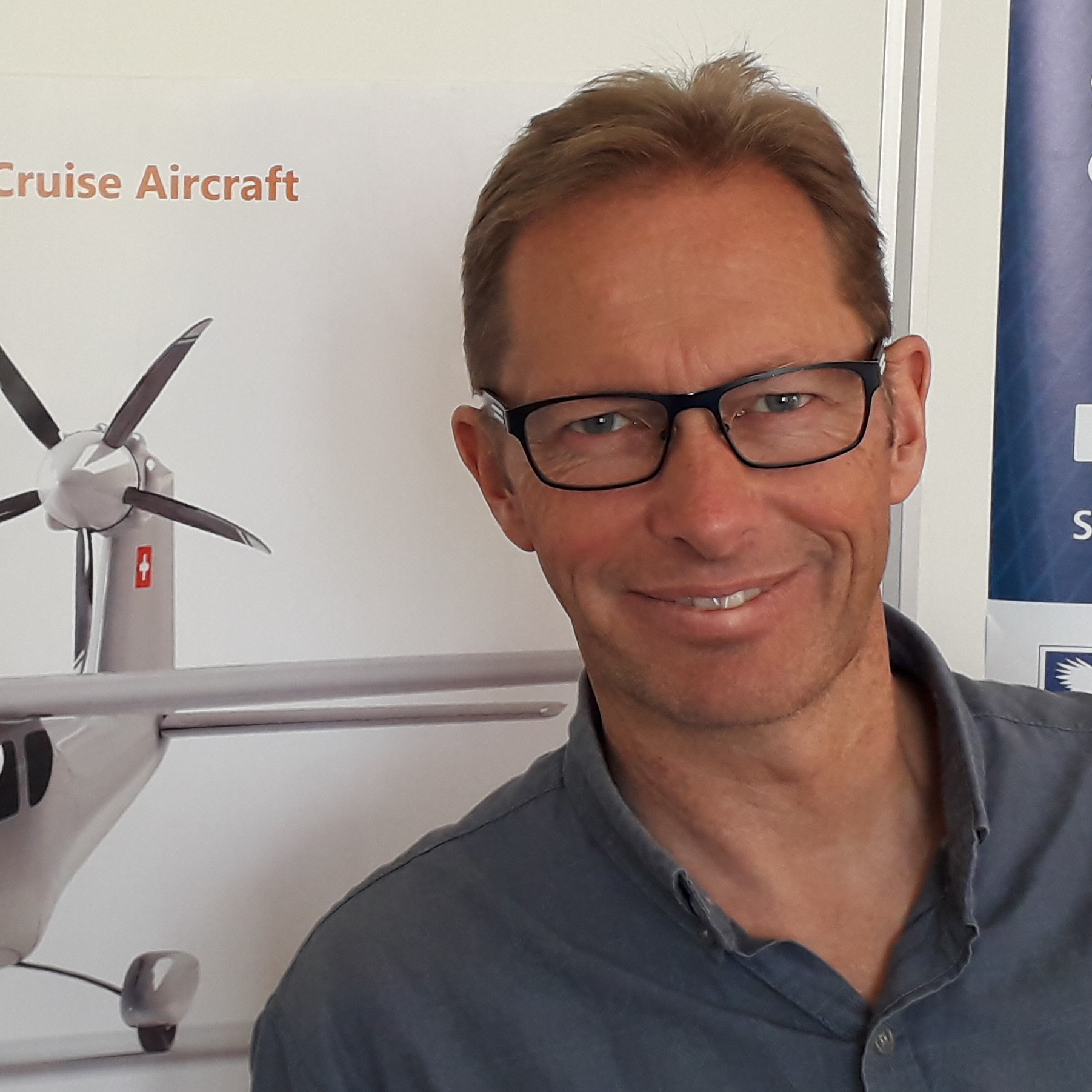 Rolf Stuber, Head of Design at SmartFlyer Ltd.