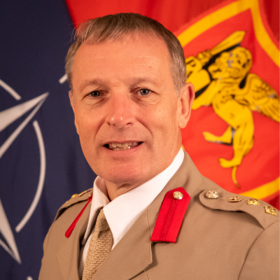 Andrew Page, Assistant Chief of Staff, Communication Information Systems at NATO HQ