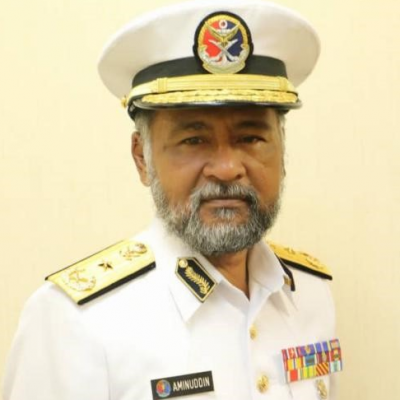First Admiral Maritime Aminuddin bin Hj Abdul Rashid, Head, Maritime State of Johore at Malaysian Maritime Enforcement Agency