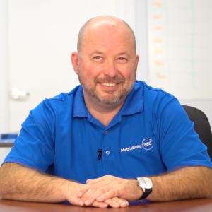 Jay Bishop, Director of Client Success at MetrixData 360