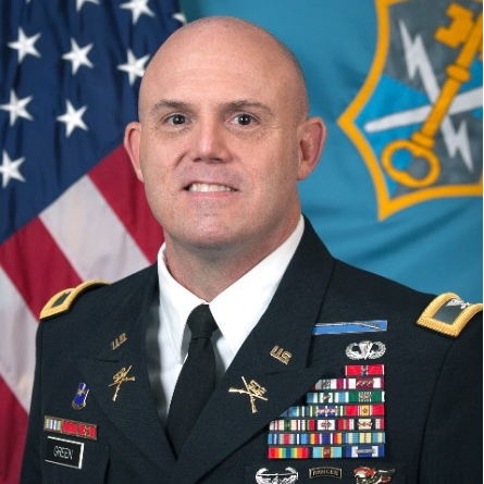 Colonel Lance Green