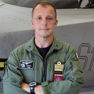 Brigadier General Luigi Casali, Head of Training and Standardisation Office, Air Education and Training Command at Italian Air Force
