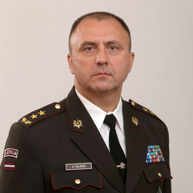 Major General Andis Dilāns, Commandant at Baltic Defence College