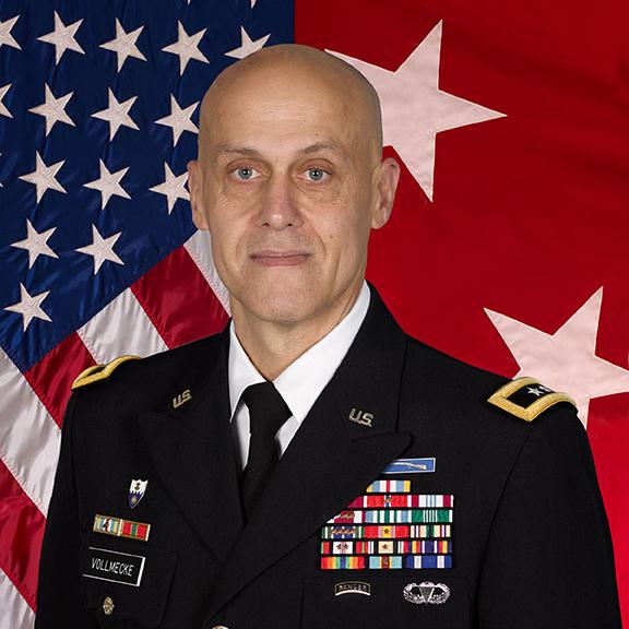Major General Kirk Vollmecke