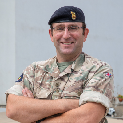 Lt Colonel Richard Blunt, Commander, Royal Engineers (Geographic) at National Centre for Geospatial Intelligence (NCGI), UK MoD