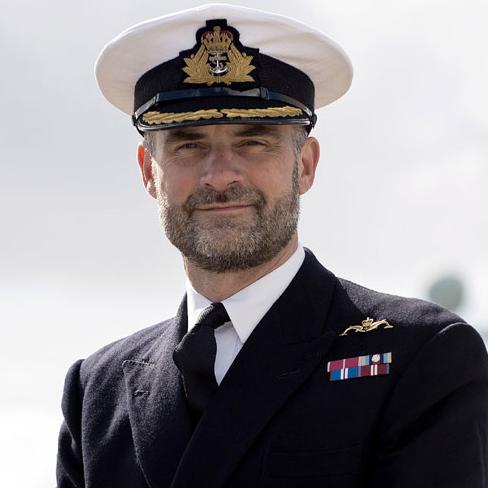 Rear Admiral Paul Halton