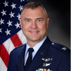 Colonel Garry Haase, Director for Munitions Directorate, Air Force Research Laboratory at USAF