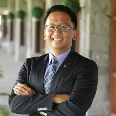 Atty. Jun Manuel Lope Del Rosario Manuel, Jr., Chief Compliance Officer and Vice President for Legal, Government and Corporate Affairs at Pepsi Cola Products Philippines, Inc.