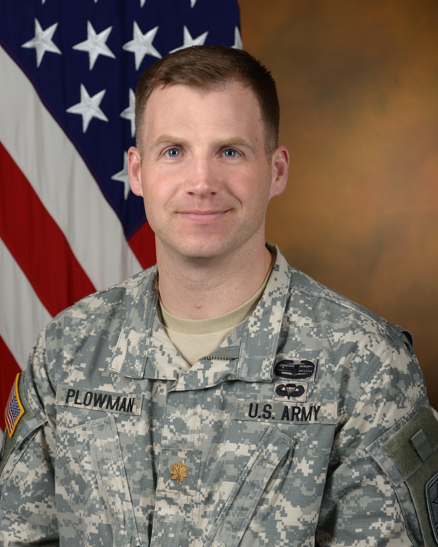 Major Clifford Plowman