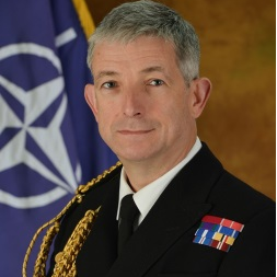 Vice Admiral Sir Clive Johnstone KBE CB