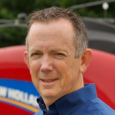 Paul Hatfield, Director of Field Service at New Holland North America