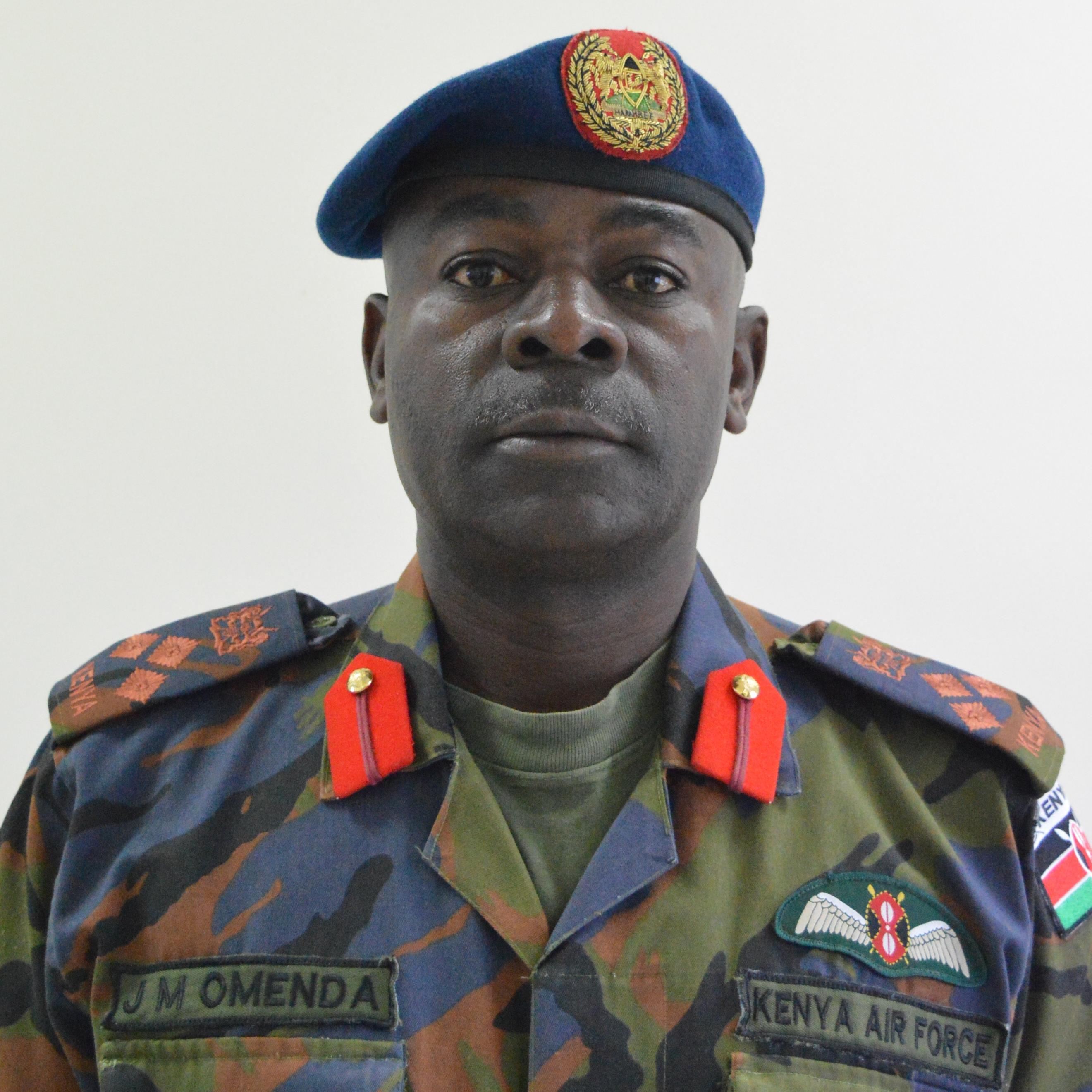 Brigadier John Mugaravai Omenda