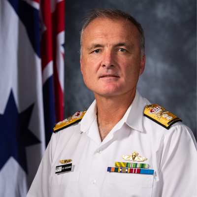 Rear Admiral Lee Goddard