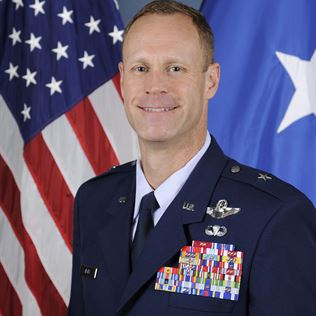 Brigadier General James R. Sears Jr., Director of Plans, Programs and Requirements, AETC Command at US Air Force