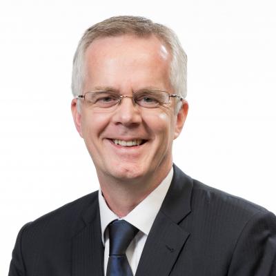 John Sinke, Marketing Director at HK Disneyland