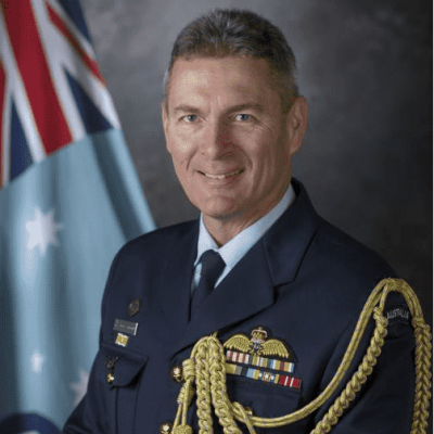 Air Commodore Terry van Haren