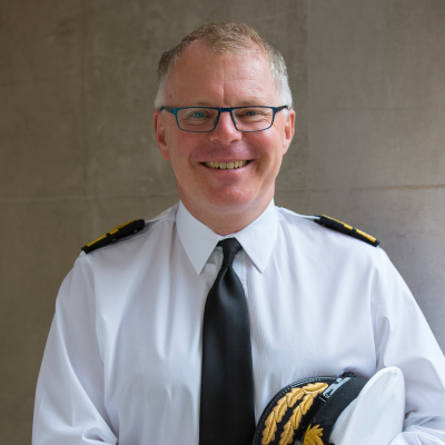 Rear Admiral Timothy Hodgson, Director Submarine Capability at UK Ministry of Defence