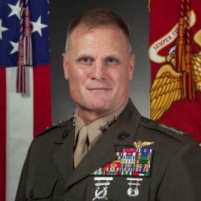 Lieutenant General Steven R. Rudder, Deputy Commandant for Aviation at USMC