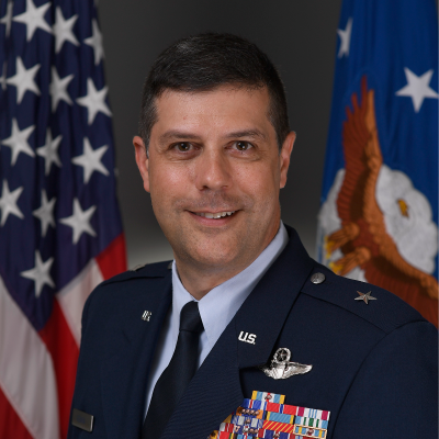 Brigadier General Andrew Gebara, Director of Strategic Plans, Programs and Requirements, Headquarters Air Force Global Strike Command at US Air Force