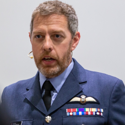 Air Commodore Jez Holmes OBE