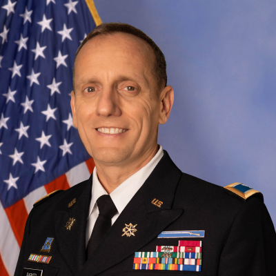 Colonel Ed Barker, Assistant Program Executive Officer for Business Mission, Enterprise Information Systems at US Army