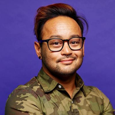Alex Tshering, SVP of Marketing at FIGS