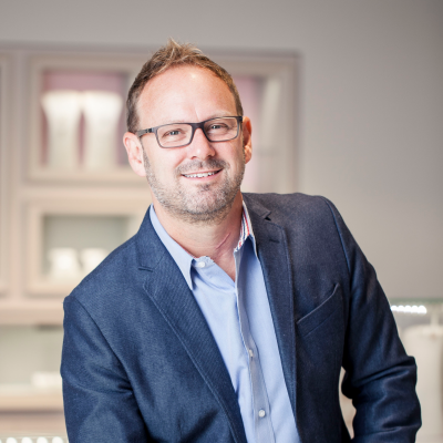 Jeff Matthews, Director, Store Design and Construction at PANDORA Americas