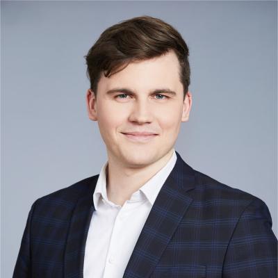 Gediminas Buivydas, Head of Digitalisation and RPA at Lietuvos Energija