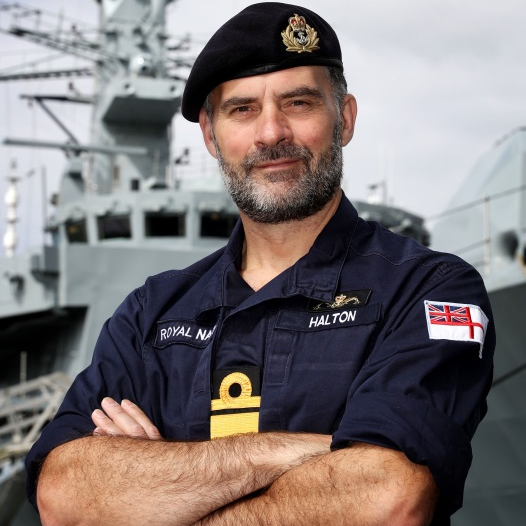 Rear Admiral Paul Halton