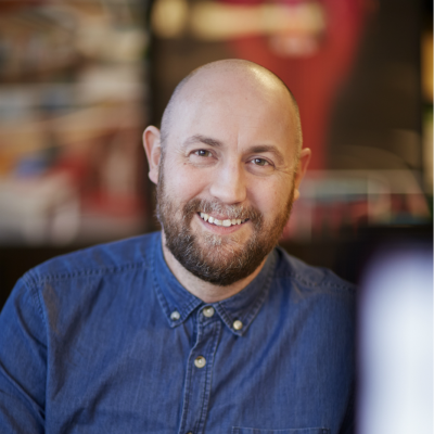 Mike Roberts, Chief Creative Officer at GREEN ROOM