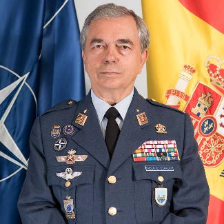Lieutenant General Rubén C. García Servert, Commander at NATO Combined Air Operations Centre Torrejon