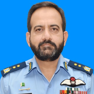 Air Vice Marshal Nasser ul Haq Wyne, Inspector General at Pakistan Air Force
