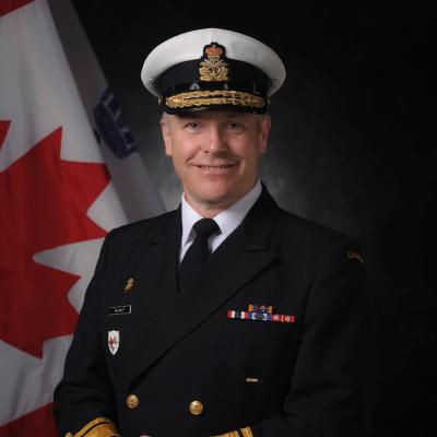 Rear Admiral Scott Bishop