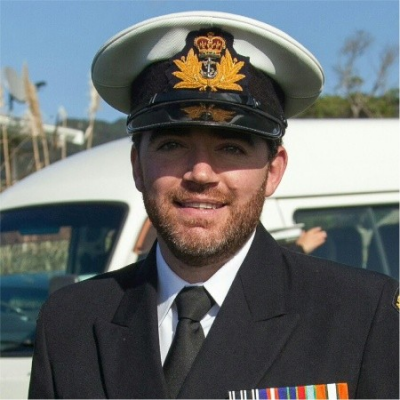 Lieutenant Commander Aston Talbot, New Zealand Assistant Defence Advisor to Singapore at Royal NZ Navy