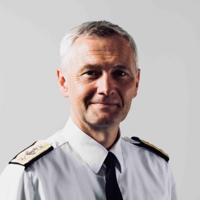 Rear Admiral Ole Morten Sandquist, Defense and Naval Attache at Royal Norwegian Embassy